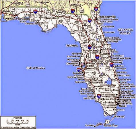 vacation map of florida map of florida beaches best pictures