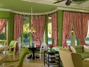 Images Of Bay Window Curtains Decor Bay Window Treatment Ideas Window Treatments Ideas For Curtains Blinds Valances Hgtv