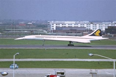 bébé siège singapore airlines ba concorde g boab heathrow 6 x 4