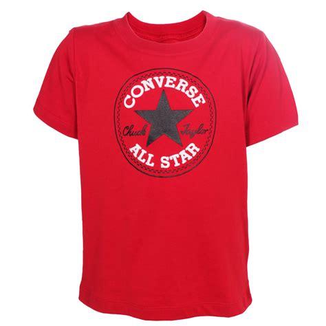 Converse Allstar Original Kode 6y converse all chuck patch logo junior t shirt