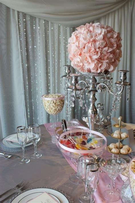 Art Pink Grey wedding decor wedding reception decor Love