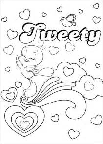 fun coloring pages tweety bird coloring pages