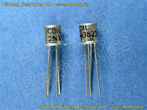 katalog transistor fet halbleiter 2n3823 2n 3823 n kanal junction fet transistor