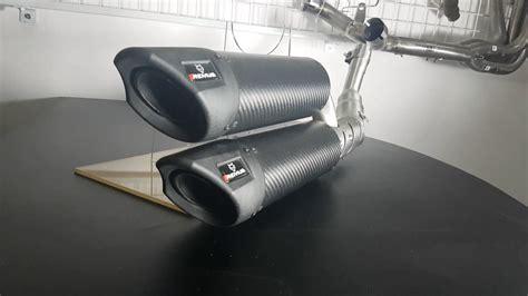Knalpot Slipon Yamaha Aerox 155 Sistem Dijual Knalpot Remus Rsc Dual Vespa Gts Duniamotor