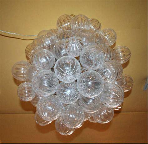 glass bubbles chandelier design ideas glass bubble chandelier homenature light fixtures design