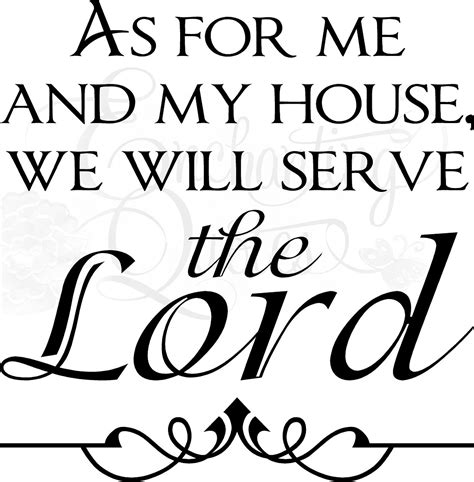 as for me and my house books religious quotes vinyl wall sayings as for me and my house