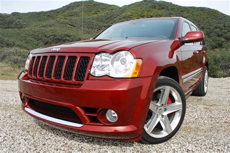 jeep srt 2009 2009 jeep grand cherokee srt8 test drive