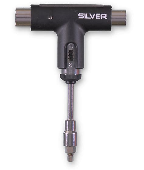 Skateboard Tools Silver Spectrum Black silver skateboard tool at zumiez pdp