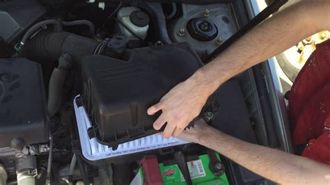 How To Change Your Toyota Camry 2002 2006 Engine Air