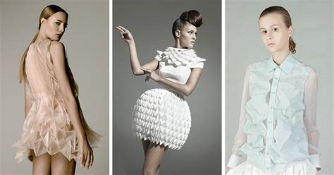 Origami Inspired Fashion - 10 modern and creative fashion designs inspired by origami