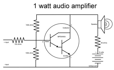one transistor lifier audio chapter 10 computers and electronics build a simple 1 watt audio lifier