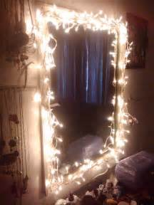 easy diy light up vanity mirror