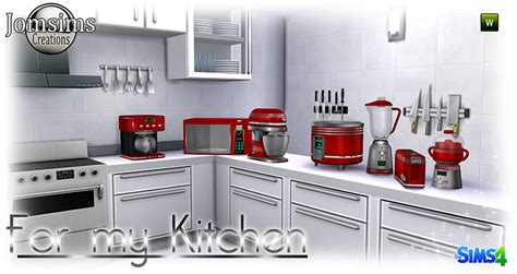 kitchen appliances blogs my sims 4 kitchen appliances by jomsims
