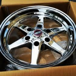 Wheels Truck Drag Racing 5 17x4 5 6 Lug Drag Direct Drilled Chrome 316 76