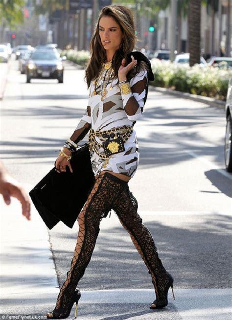 who wore it better dencia model alessandra ambrosio in