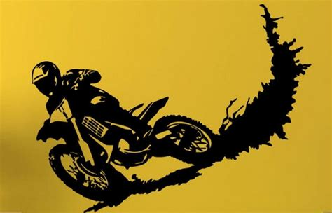 dirt bike wall stickers wall decal dirt bike wall decals for home decorating dirt