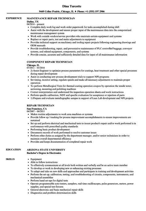 Appliance Repair Sle Resume by Resume Cover Letter Via Email Resume Cover Letter For Mechanical Engineering Resume Cover Letter