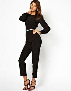 Get Dressed For The Holidays With The Shopstyle Wardrobe Registry by Asos Simple Jumpsuit With Sleeves 69 87