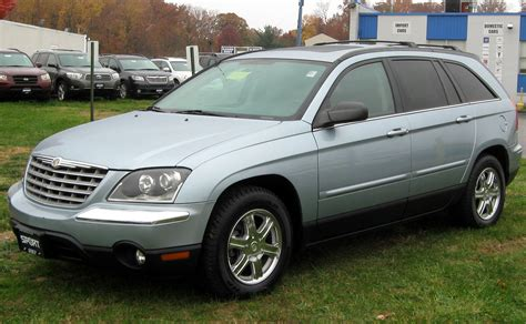 Pacifica Chrysler 2004 by 2006 Chrysler Pacifica Related Infomation Specifications