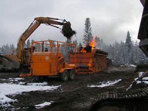 industrial wood waste burner incinerator heavy