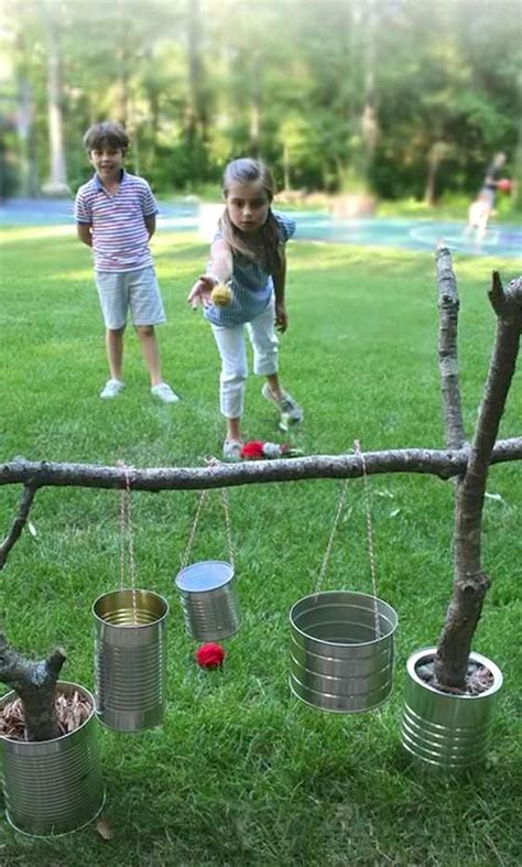 easy backyard games 32 fun diy backyard games to play for kids adults