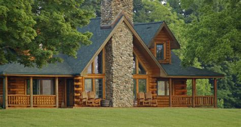 Log Cabin Home by Log Cabin Homes Kits Exterior Photo Gallery