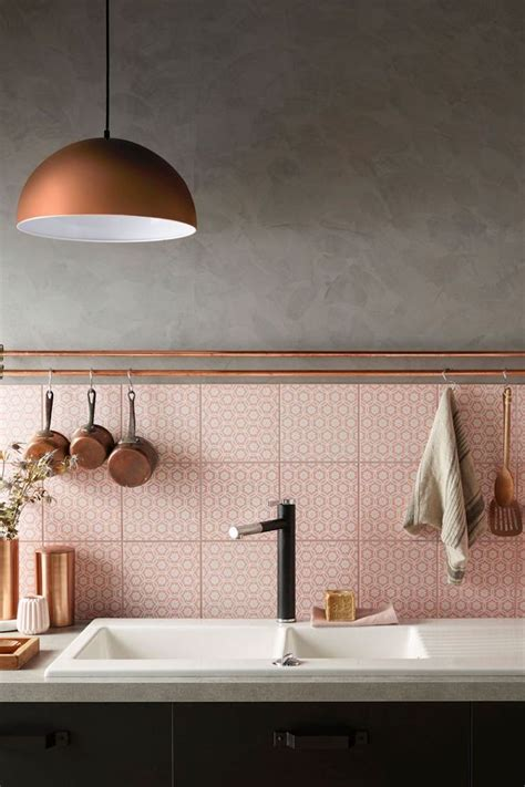 eye catching blush pink copper home decor ideas