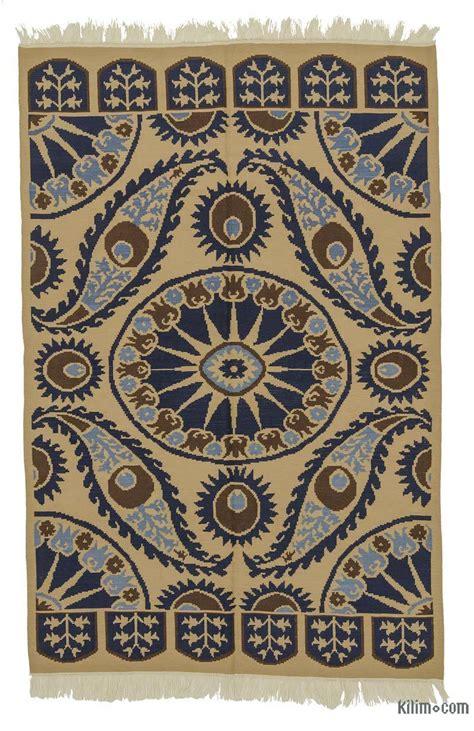 rugs and kilims k0021055 beige blue new turkish kilim rug