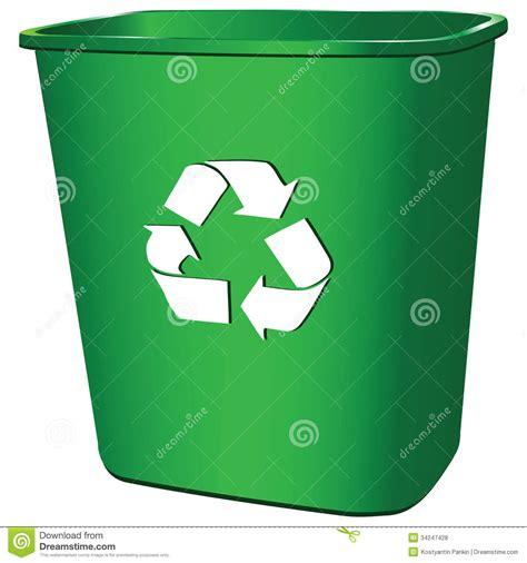 clipart rifiuti contenitore di rifiuti illustrazione vettoriale immagine