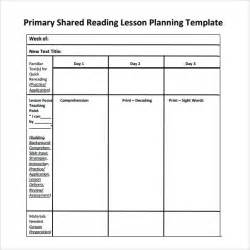 guided reading lesson plan template 8 free