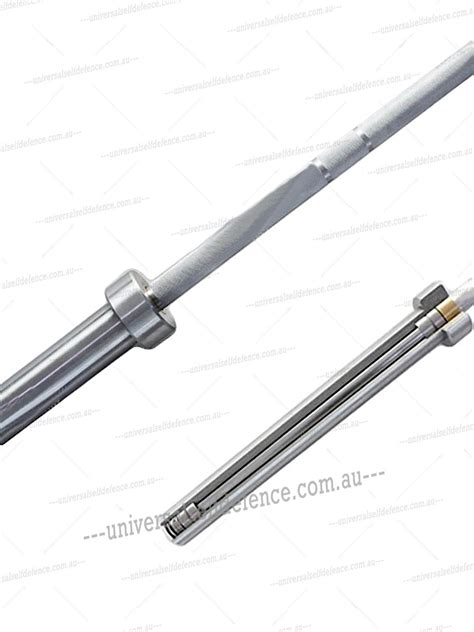Barbel Chrome olympic bar 7ft 20kg harden chrome barbell discount martial arts supplies universal self defence