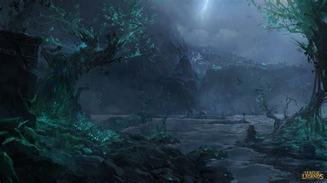 imagenes oscuras de fondo de pantalla fondos de pantalla de las islas de la sombra league of