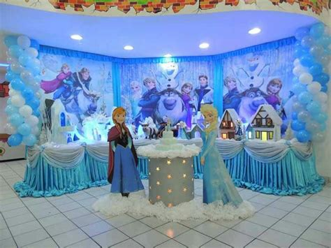 frozen themed party kelso frozen decoration frozen birthday jannay 9