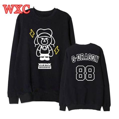 Hoodie Bigbang 01 kpop hoodies bigbang g sweatshirts pullover unisex sleeve bears coat school hoodie