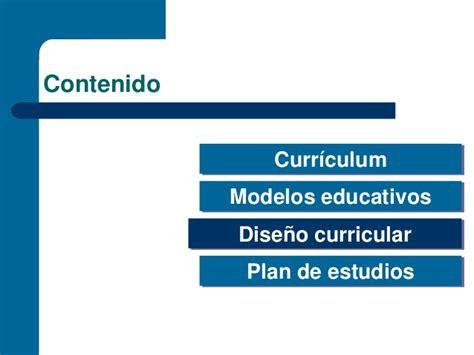 Modelo Curriculum Uam Diapositivas Dise 241 O Curricular