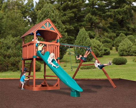 tree house swing sets swingsets and playsets nashville tn olympian treehouse