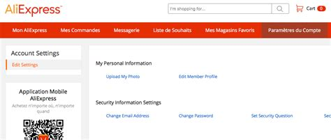aliexpress account supprimer un compte alibaba aliexpress