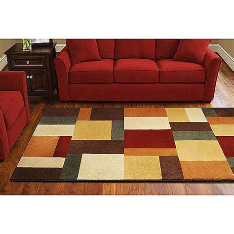 color block rugs mohawk color block rug walmart