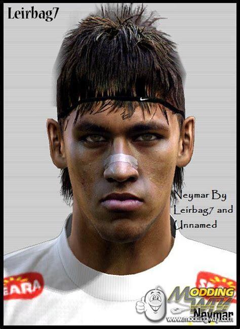 neymar new hair cuttphotos download in neymar new hair face pro evolution soccer 2012