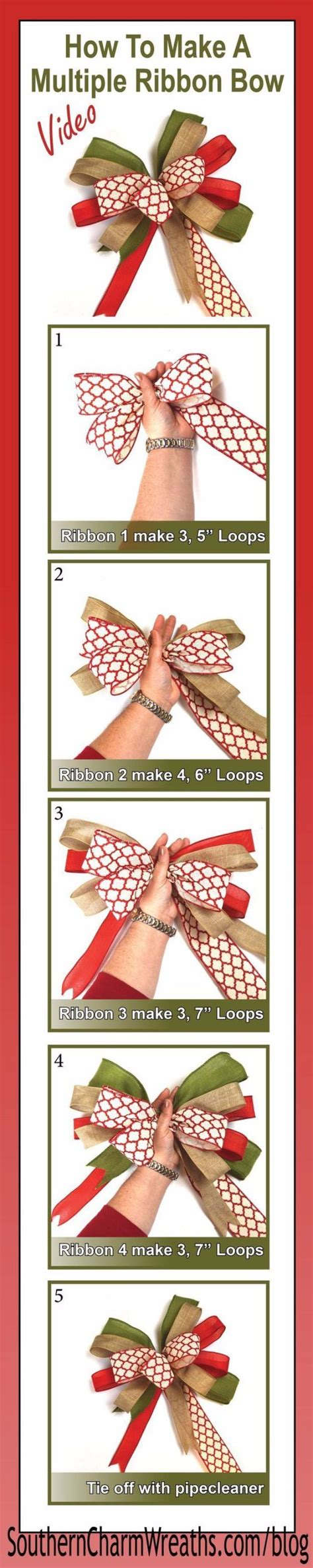 how to best store christmas bows 50 creative bows to make for your packages
