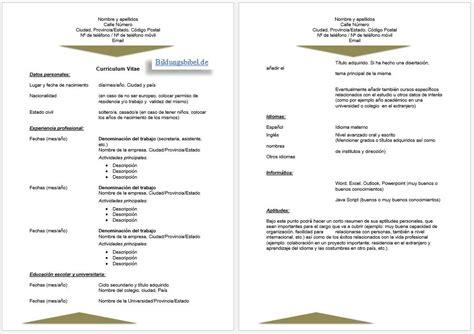 Vorlage Lebenslauf Und Bewerbung Bewerbung Spanisch Anschreiben Lebenslauf Vorlage Muster Beispiele Kostenlos