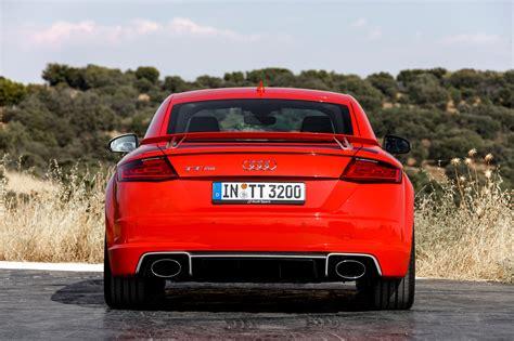 audi tt rs upgrades 2017 audi tt rs drive review motor trend