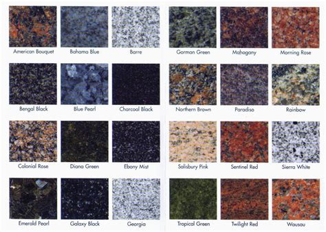 colors of granite what is the most popular granite countertop color home