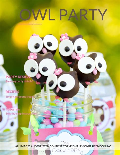 owl theme 17 best images about owl party on pinterest owl themed