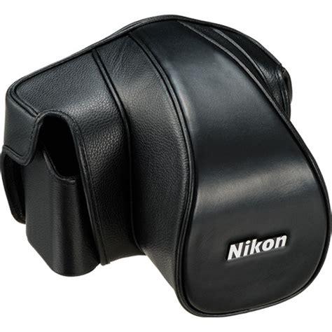 nikon cases nikon cf dc6b leather set for nikon df black 4999 b h
