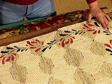 Diy Area Rug From Fabric How To Make A Fabric Rug Border How Tos Diy