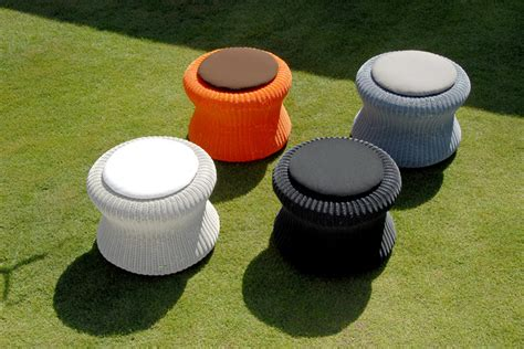 Outdoor Patio Footstools by Lebello Modern Outdoor Pouf Marshmellow Ottoman