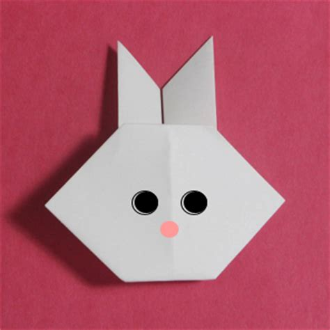 origami easy rabbit origami maniacs easy origami for