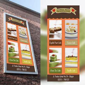 design banner toko gallery kontes desain banner billboard toko kue tradisiona