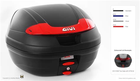 Sticker Helm Bogor by Jual Box Motor Givi E340n 34 Liter 1 Helm Jacket